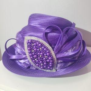 Ashro derby church formal brim hat